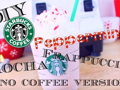 DIY  Starbucks Peppermint Mocha Frappuccino