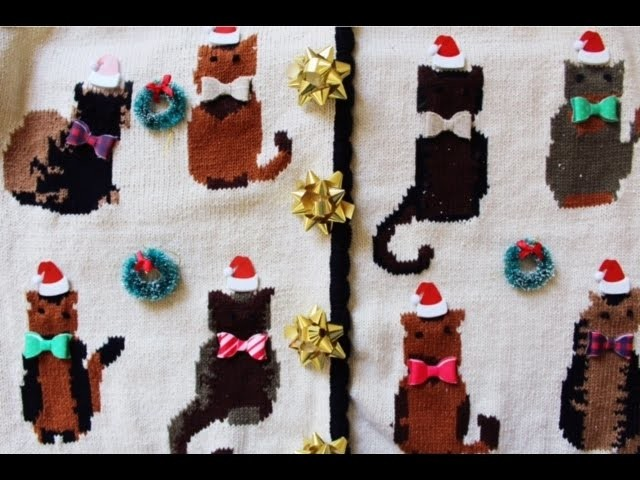 DIY: Ugly Christmas Sweater Party
