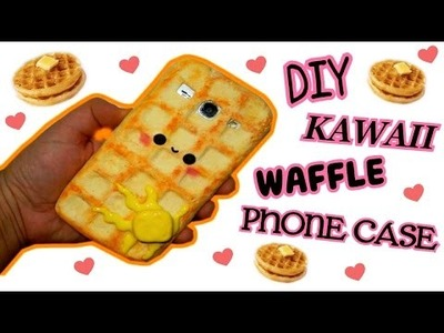 DIY | Waffle kawaii Phone Case Tutotorial-Cover in silicone || Iolanda Sweets