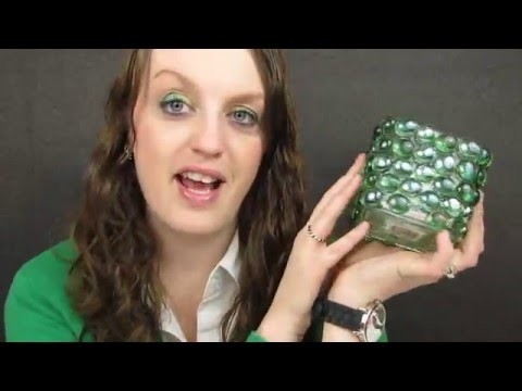 Dollar Tree DIY  Candle Votive Holder with Stones