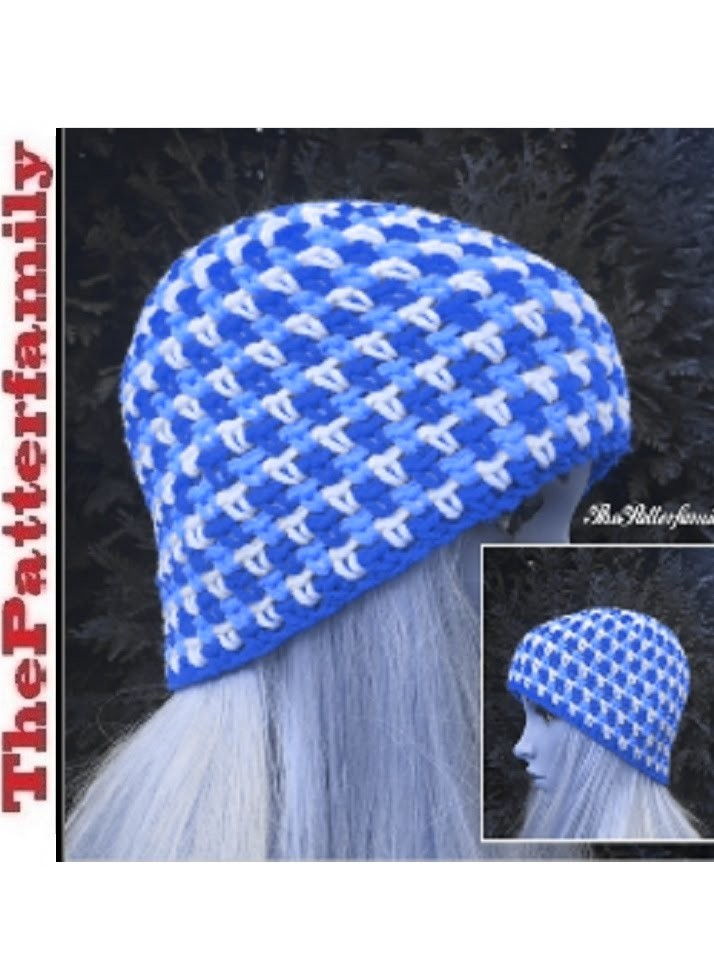 How To Crochet a Beanie Hat Pattern #31│by ThePatterfamily