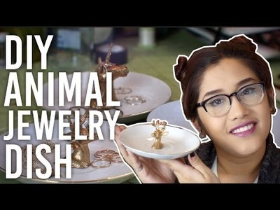 How to Make Animal Jewelry Dish : DIY