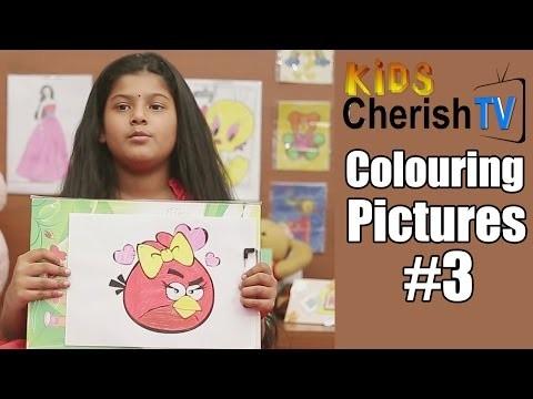 How To Make Paper Angry Bird  | Diy |  Kids Cherish Tv