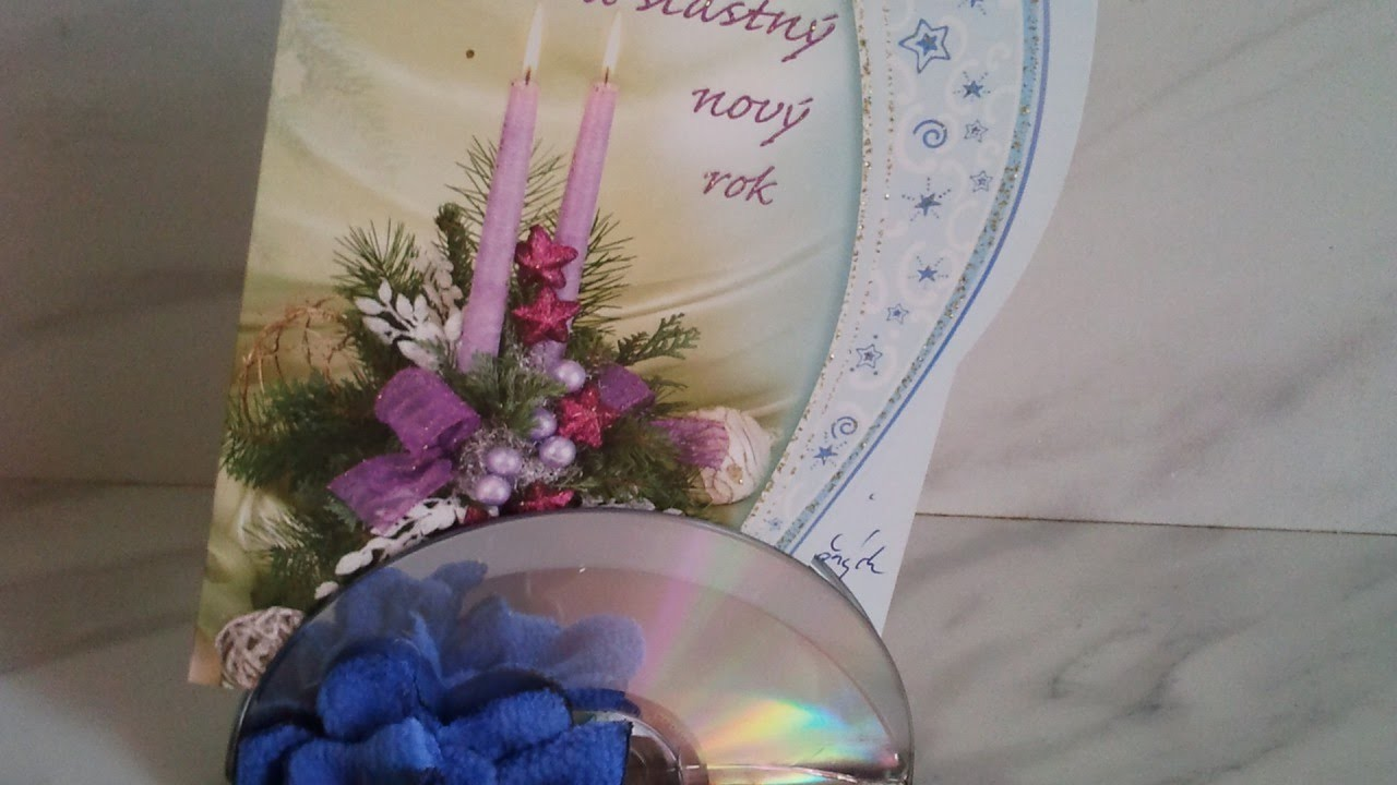 Making CD Stand for Holiday Cards - DIY Home - Guidecentral