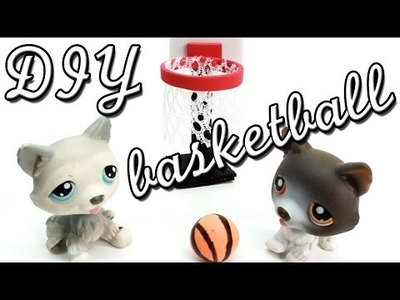 Miniature Basketball Hoop & Basketball Tutorial - DIY for LPS and Dolls