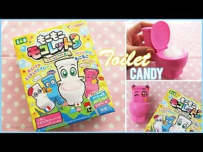 NEW Set, Toilet Foam Candy || DIY Japanese Candy Kit