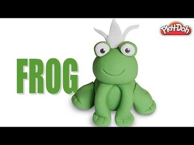 Play Doh Frog | How To Make Play Doh Frog | DIY Play Doh Frog
