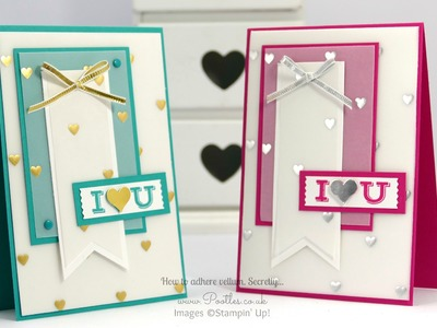Pootles Vellum Card Tutorial with Adhesive Ideas