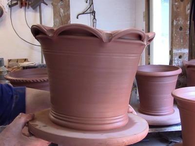 Flower Pot Rims. how to.
