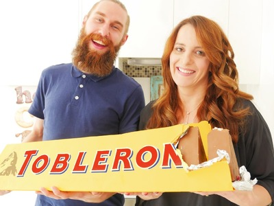 GIANT TOBLERONE RECIPE How To Cook That Ann Reardon
