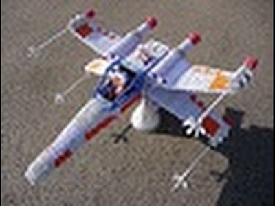 How did Karen Create the X Wing  3D Origami Project?