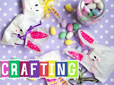 How to Craft a Duck Washi® Tape Bunny Treat Bag