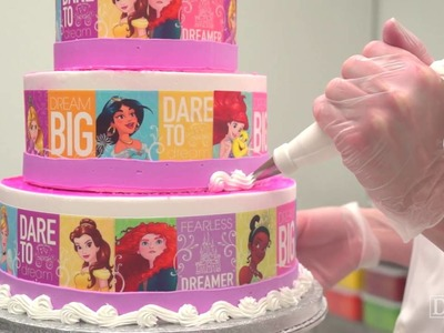 How to Make a Disney Princess Dream Big, Princess Cake