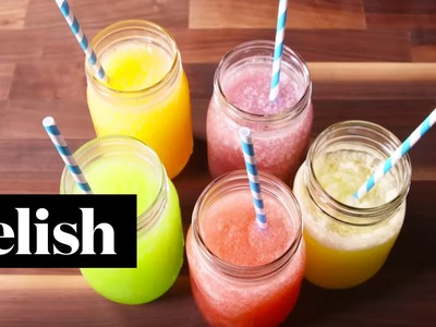 How To Make Skittles Slushies | Delish