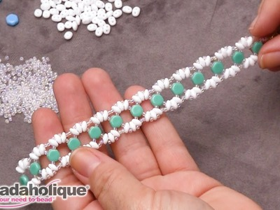 How to Make the Lizzie Honeycomb Bracelet