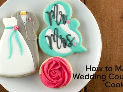 How to Make Wedding Couple Cookies