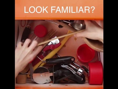 How To Maximize Kitchen Drawer Space [Nifty]