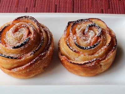 Baked Apple Roses - How to Make a Rose-Shaped Apple Tart