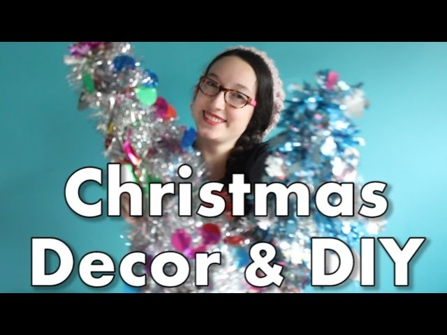 Christmas Decor and DIY! (First Video!)