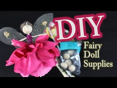 DIY Doll Making Supplies Tutorial for Fairy Doll Making