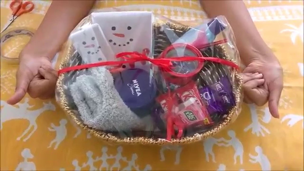 DIY easy last minute Christmas gift hamper | DCrafty