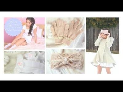 DIY Girly Winter Clothing