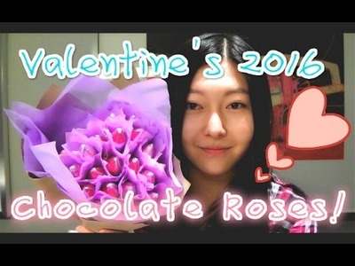 ✄DIY✄ Hershey's Kisses Chocolate Rose Bouquet ❤Valentine's Gift Idea 2016❤