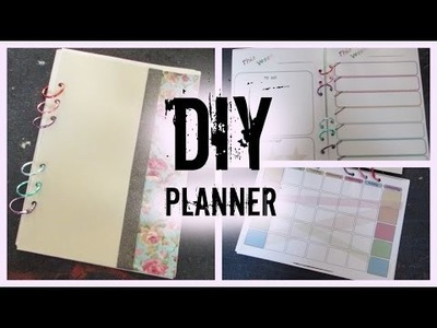 DIY Planner! I How to make your own planner from scratch!