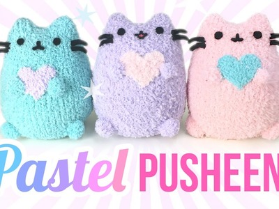 DIY Pusheen Cat Plush - Make Adorable Budget Plushies Using SOCKS!!