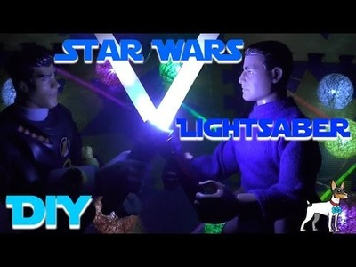 DIY Star Wars Light Saber by Benji Toys & Learn
