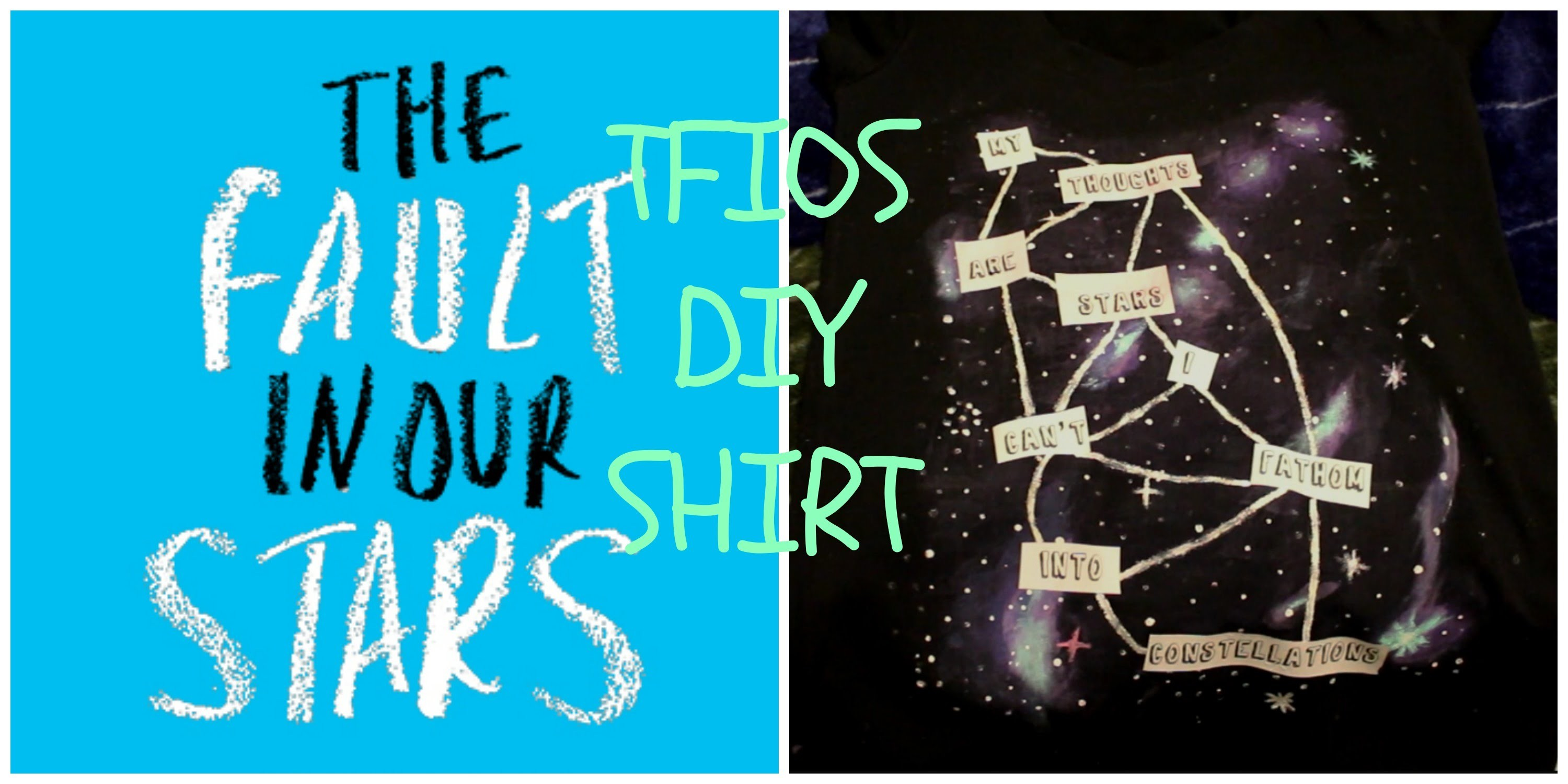 Diy: The Fault in Our Stars Shirt
