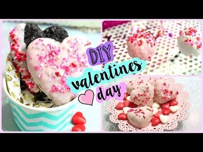 DIY Valentine's Day Treats | Cute, Fun & EASY!