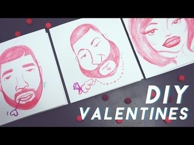 ✂ DIY Valentine's Drake, DJ Khaled & Kylie Jenner Cards