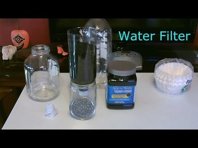 "DIY Water Filter - Homemade ""High-Volume"" Water Filter - Easy DIY (makes tap water taste great!)"
