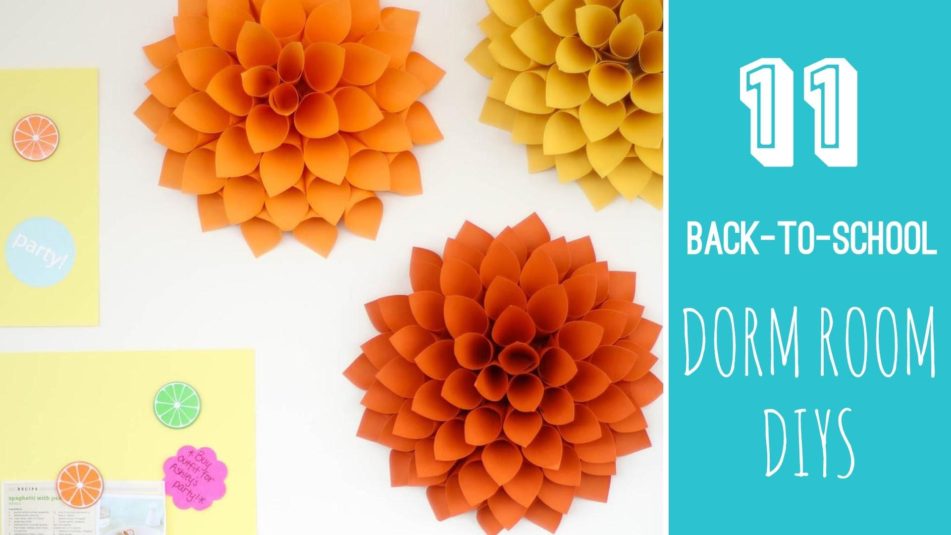 Dorm Room Makeover  Tour + 11 More Easy Back-to-School DIYS  - HGTV Handmade