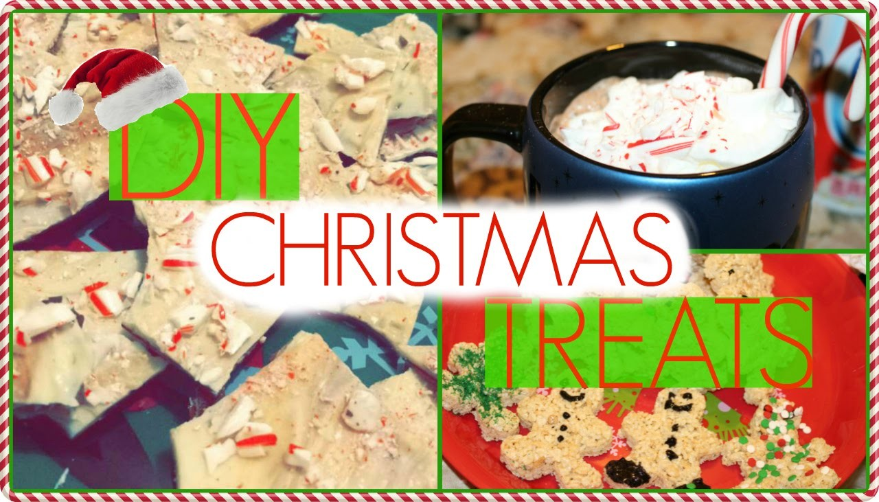 EASY DIY CHRISTMAS TREATS