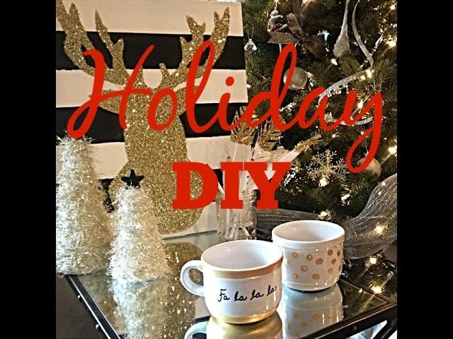 Gold Holiday DIY's - great gift ideas!