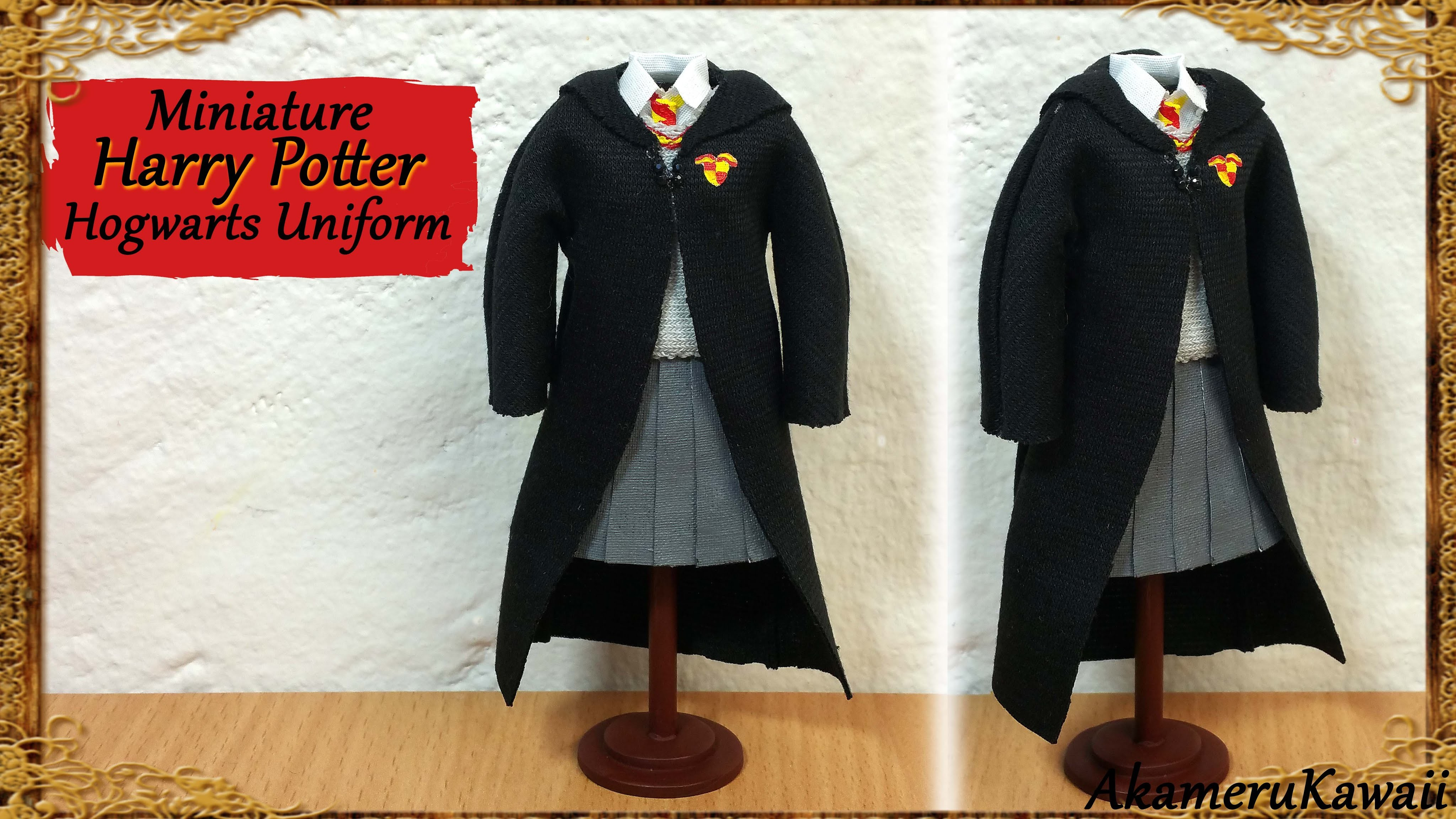 Harry Potter inspired Doll Uniform - Fabric Tutorial