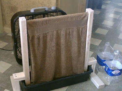 Homemade Evap. Air Cooler! - The DIY