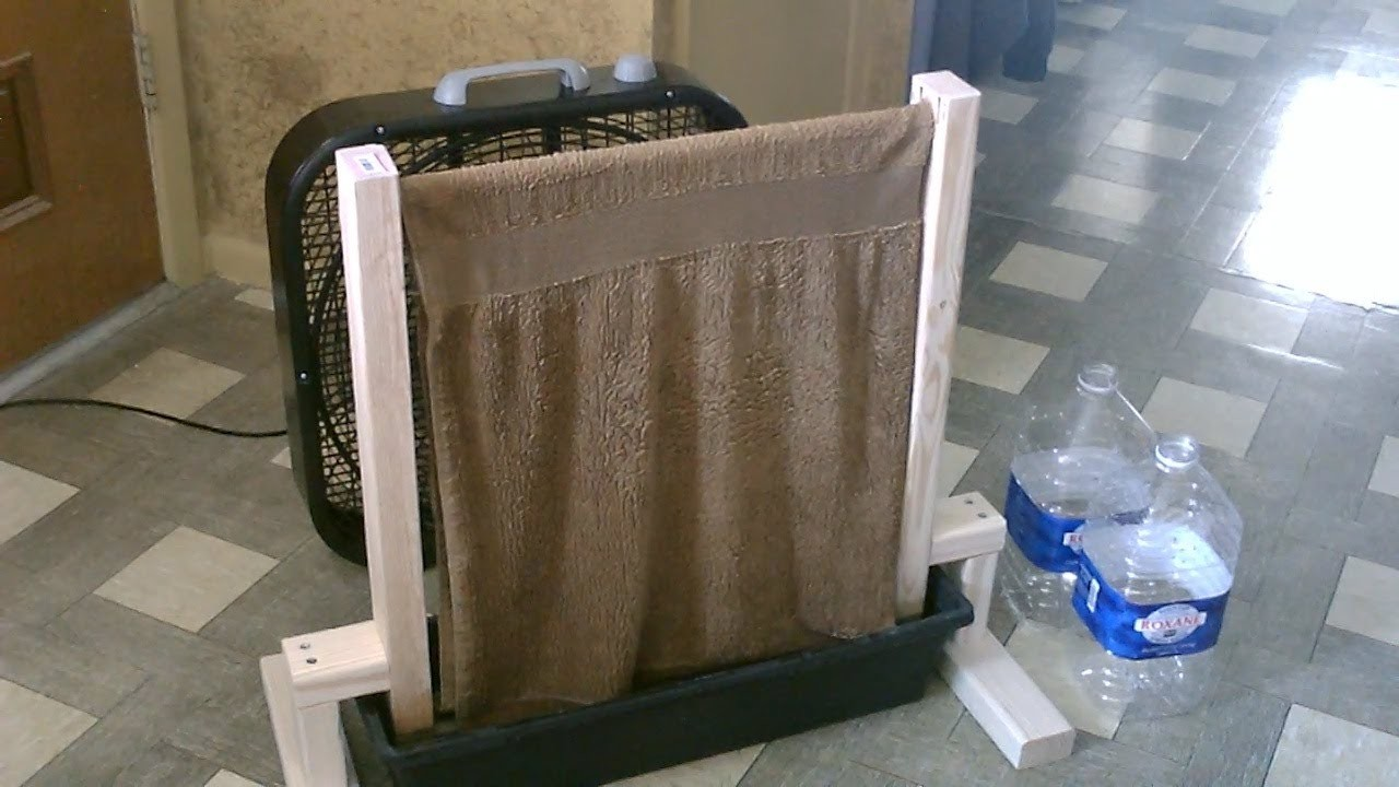 "Homemade Evap. Air Cooler! - The DIY ""Planter Box"" AC (air cooler) - up to 30F drop! - Easy Instr."