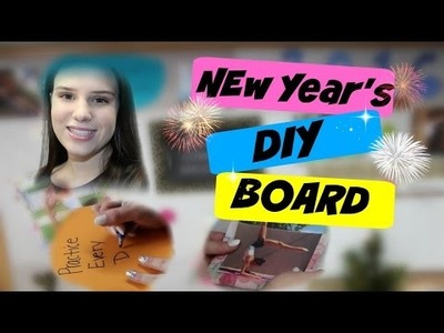 How to Keep a New Year's Resolution DIY Board