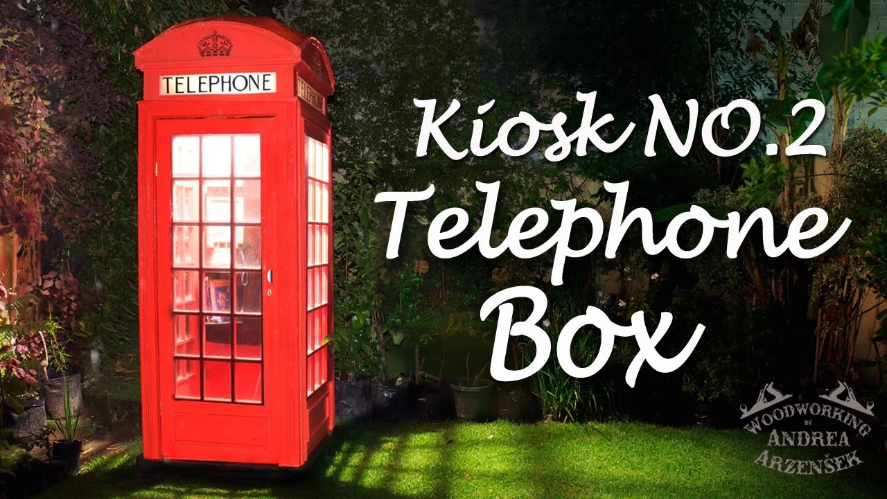 How to make an English Telephone Box! - Ep 031