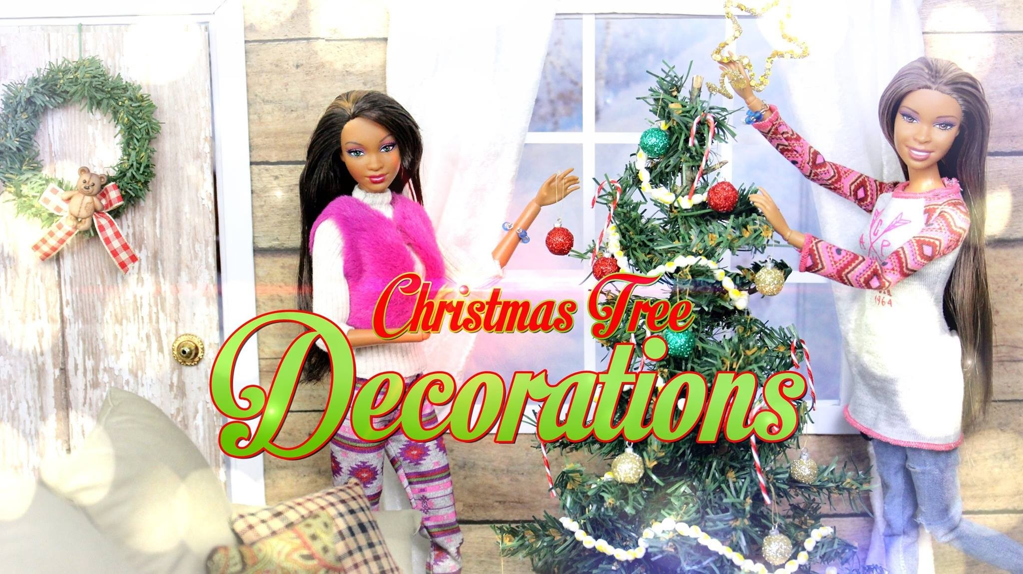 How to Make Doll Christmas Tree Decorations - Doll Crafts