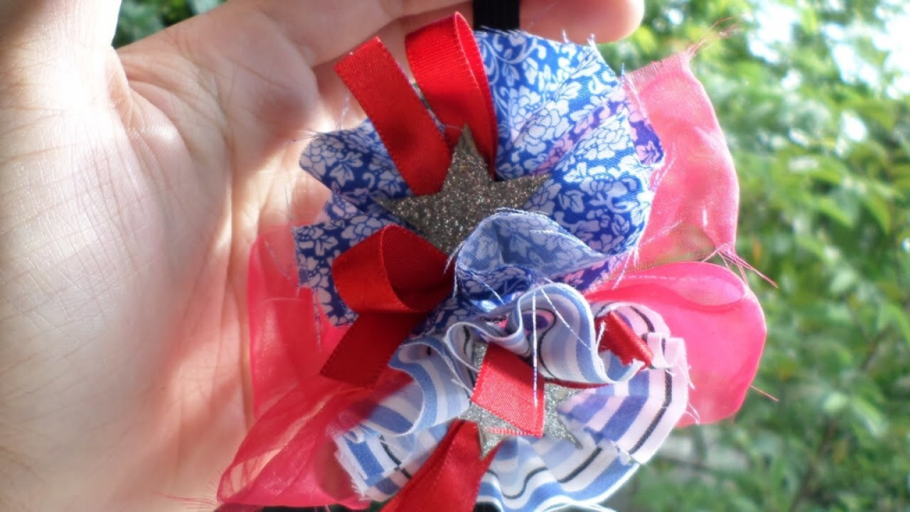Make a 4th Of July Headband - DIY Style - Guidecentral