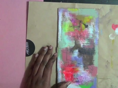 Mixed media painting by mystele, fly