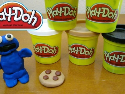 Play-Doh Cookie Monster | Fun & Easy Play Doh How To DIY!