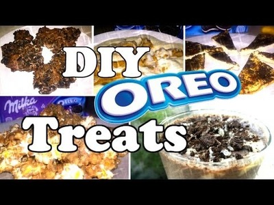 #5 Delicious DIY Oreo Treats!