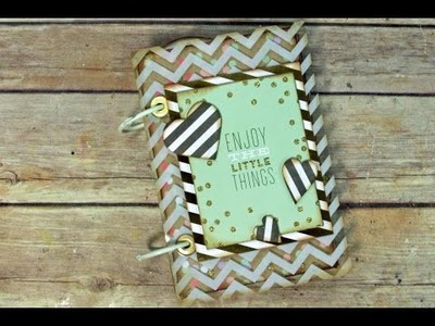 Clasp Envelope Album using the Ultimate DIY Scrapbook Printable Template
