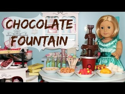 DIY American Girl Chocolate Fountain