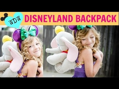 DIY Disneyland NO SEW Dumbo Backpack for The Park!